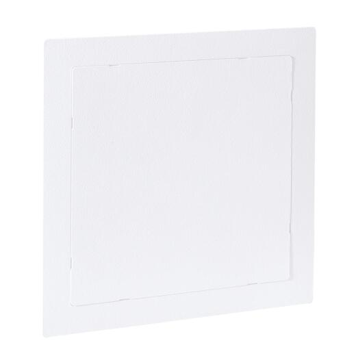 Oatey 14 In. x 14 In. White Plastic Wall Access Panel