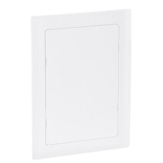 Oatey 6 In. x 9 In. White Plastic Wall Access Panel
